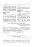 Nghiên cứu một số biện pháp kỹ thuật canh tác cho củ từ Bơn Nghệ An