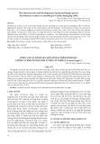 Phân lập và đánh giá một số đặc điểm sinh học chủng vi khuẩn nội sinh từ rễ cây nghệ (Curcuma longa L.)