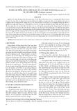 Đánh giá tiềm năng chịu mặn của cây đậu nành (Glycine max L.) và cây điên điển (Sesbania rostrata)