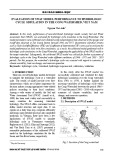 Evaluation of SWAT model performance to hydrologic cycle simulation in the Cong Watershed, Viet Nam