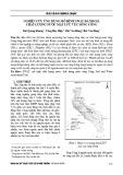 Nghiên cứu ứng dụng mô hình SWAT đánh giá chất lượng nước mặt lưu vực sông Công