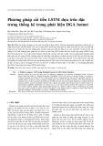 Phương pháp cải tiến LSTM dựa trên đặc trưng thống kê trong phát hiện DGA botnet