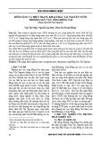 Tiềm năng và hiện trạng khai thác tài nguyên nước thượng lưu vực sông Đồng Nai