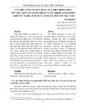 Các điều khoản linh hoạt của Hiệp định TRIPS với việc tiếp cận dược phẩm vì sức khỏe cộng - khuyến nghị cách thức áp dụng đối với Việt Nam