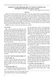 Nghiên cứu đặc điểm sinh học của chủng xạ khuẩn VS18 đối kháng với nấm Corynespora cassiicola