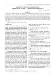 Nghiên cứu sử dụng chế phẩm nano trong nuôi cấy mô cây mía (Saccharum offcinarum L.)