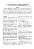 Ứng dụng kỹ thuật nuôi cấy in vitro trong nhân giống lan Hoàng thảo vôi (Dendrobium cretaceum Lindley)