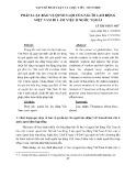 Pháp luật bảo vệ quyền lợi của người lao động Việt Nam đi làm việc ở nước ngoài