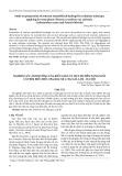 Nghiên cứu ảnh hưởng của kiểu giàn và mật độ đến năng suất cây Bìm biếc biếc (Pharbitis nil L.) tại Gia Lâm - Hà Nội