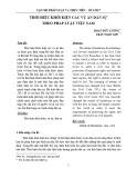 Thời hiệu khởi kiện các vụ án dân sự theo pháp luật Việt Nam