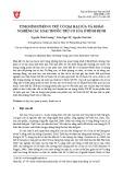 Tình hình phòng trừ cỏ dại hại lúa và khảo nghiệm các loại thuốc trừ cỏ lúa ở Bình Định