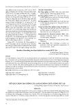Kết quả chọn tạo giống lúa lai hai dòng chất lượng HYT 124