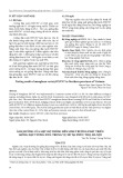 Ảnh hưởng của mật độ trồng đến sinh trưởng phát triển giống đậu tương ĐT51 trong vụ Hè tại Phúc Thọ, Hà Nội