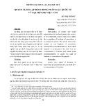 Quyền tự do lập hội trong pháp luật quốc tế và gợi mở cho Việt Nam