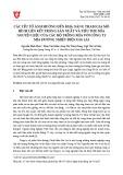 Các yếu tố ảnh hưởng đến khả năng tham gia mô hình liên kết trong sản xuất và tiêu thụ mía nguyên liệu của các hộ trồng mía với công ty mía đường nhiệt điện Gia Lai