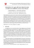 Ảnh hưởng của AgNO3 đến quá trình tái sinh in vitro cây nghệ đen (Curcuma zedoaria Roscoe)