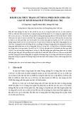 Đánh giá thực trạng sử dụng phân bón cho cây cao su kinh doanh ở tỉnh Quảng Trị