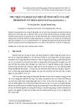 Thu nhận và khảo sát một số tính chất của chế phẩm Ficin từ nhựa quả vả (Ficus auriculata L.)