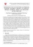 Sinh trưởng và sức sản xuất thịt của tổ hợp lợn lai Duroc × [Landrace × (Pietrain × VCN–MS15)] v Pietrain × [Landrace × (Duroc × VCN–MS15)] nuôi tại tỉnh Thừa Thiên Huế