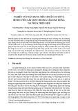 Nghiên cứu xây dựng tiêu chuẩn cơ sở và bình tuyển cây Quýt Hương Cần đầu dòng tại Thừa Thiên Huế