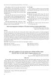 Kết quả nghiên cứu xây dựng quy trình trồng trọt nguồn gen cây Độc hoạt (Angelica pubescens Ait.)