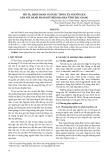 Mô tả, định danh và dược tính của nguồn gen Sâm Núi Dành phân bố trên địa bàn tỉnh Bắc Giang