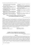 Nghiên cứu quá trình phát sinh phôi soma từ mô củ cây Sâm Vũ Diệp (Panax bipinnatifidus Seem.)
