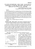 Ứng dụng mô hình HEC - HMS và HEC - RAS đánh giá ảnh hưởng của hồ chứa đến dòng chảy mùa cạn trên lưu vực sông Vu Gia - Thu Bồn