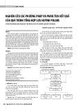Nghiên cứu các phương pháp và phân tích kết quả của quá trình tổng hợp lưu huỳnh polime