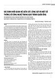 Xác định mối quan hệ giữa sức căng sợi và một số thông số công nghệ trong quá trình quấn ống