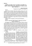 Nghiên cứu khả năng tái sinh của sét hữu cơ chống nhôm trong quá trình xử lý phẩm xanh trực tiếp DB - 53