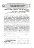 Assessment of land subsidence due to groundwater extraction in Ho Chi Minh city