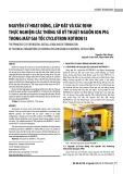 Nguyên lý hoạt động, lắp đặt và xác định thực nghiệm các thông số kỹ thuật nguồn ion PIG trong máy gia tốc cyclotron KOTRON13