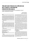 Tổng hợp và đặc trưng xúc tác lưỡng kim loại SBA-15 chứa Ni, Cu cho phản ứng hydro đề oxy hóa guaiacol