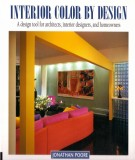 Design tool for architects, interior designers and homeowners with the interior color by design: Part 1