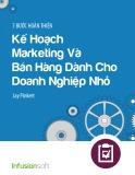 7 bước hoàn thiện kế hoạch Marketing và bán hàng dành cho doanh nghiệp nhỏ