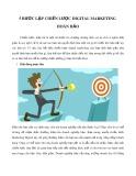 5 bước lập chiến lược digital marketing hoàn hảo