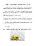 6 bước ra mắt thương hiệu mới thông qua PR