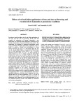 Effects of soil and foliar applications of iron and zinc on flowering and essential oil of chamomile at greenhouse conditions