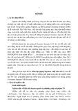 Tóm tắt Luận án tiến sĩ Nghệ thuật: Đào tạo giọng Soprano Việt Nam CLC