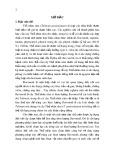 Tóm tắt Luận án tiến sĩ Sinh học: Nghiên cứu biểu hiện gen GmCHI liên quan đến tổng hợp flavonoid và cảm ứng tạo rễ tơ ở cây Thổ nhân sâm (Talinum paniculatum)