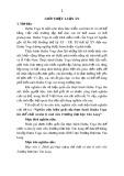 Tóm tắt Luận văn tiến sĩ Giáo dục học: Nghiên cứu hiệu quả của thực hành Hatha Yoga lên thể chất và tâm lý sinh viên Trường Đại học Văn Lang