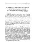 Nhận thức của giới nghiên cứu về thể chế chính trị của các nhà nước thời cổ - trung đại ở miền Trung Việt Nam