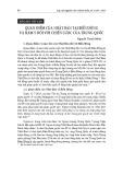 Quan điểm của Nhật Bản tại biển Đông và hàm ý đối với chiến lược của Trung Quốc