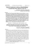 Định danh loài bằng mã vạch DNA và phân tích trình tự vùng ITS và đoạn gen rpoC1 của mẫu lan Kim tuyến thu tại huyện Thuận Châu, tỉnh Sơn La, Việt Nam
