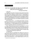 Luật tục và tri thức bản địa của người Tà Ôi đối với tài nguyên rừng