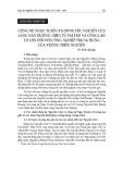 Công nữ Ngọc Tuyên và dòng tộc Nguyễn Cửu làng Vân Dương: Nhìn từ vai trò và công lao to lớn đối với công nghiệp trung hưng của Vương triều Nguyễn