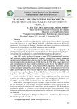 Mangrove restoration for environmental protection and coastal life improvement in Vietnam