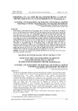 Ảnh hưởng của các nồng độ NPK tới sinh trưởng và một số chỉ tiêu sinh lí của cây lan Dendrobium lùn (Dendrobium sp.)