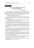 Tín ngưỡng thờ Mẫu và chư vị ở Thừa Thiên Huế